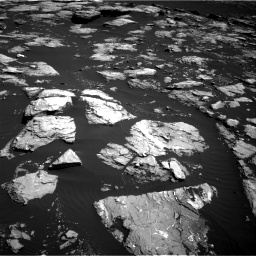 Nasa's Mars rover Curiosity acquired this image using its Right Navigation Camera on Sol 1519, at drive 2560, site number 59