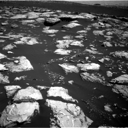 Nasa's Mars rover Curiosity acquired this image using its Right Navigation Camera on Sol 1519, at drive 2572, site number 59