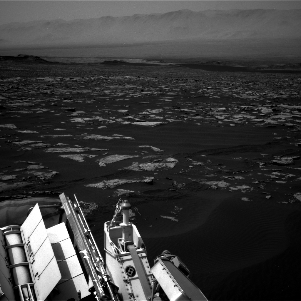 Nasa's Mars rover Curiosity acquired this image using its Right Navigation Camera on Sol 1519, at drive 2578, site number 59
