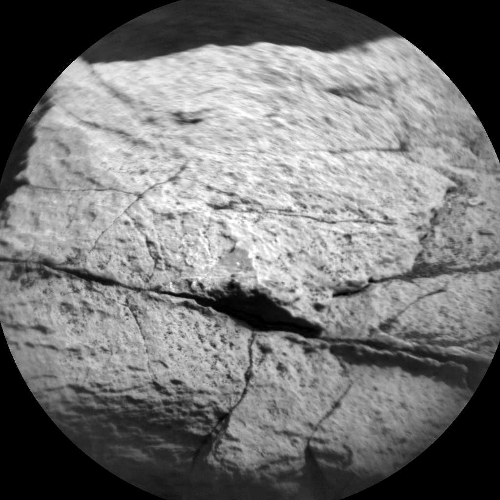 Nasa's Mars rover Curiosity acquired this image using its Chemistry & Camera (ChemCam) on Sol 1519, at drive 2578, site number 59