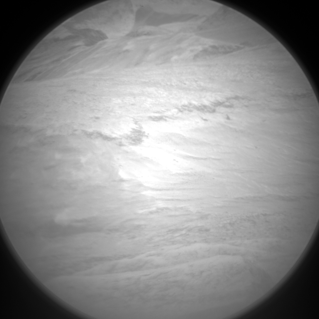 Nasa's Mars rover Curiosity acquired this image using its Chemistry & Camera (ChemCam) on Sol 1520, at drive 2578, site number 59