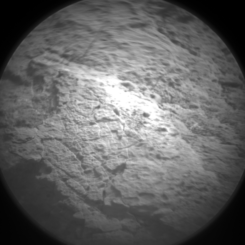 Nasa's Mars rover Curiosity acquired this image using its Chemistry & Camera (ChemCam) on Sol 1521, at drive 2668, site number 59