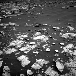 Nasa's Mars rover Curiosity acquired this image using its Left Navigation Camera on Sol 1521, at drive 2584, site number 59