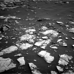 Nasa's Mars rover Curiosity acquired this image using its Left Navigation Camera on Sol 1521, at drive 2590, site number 59