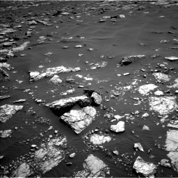 Nasa's Mars rover Curiosity acquired this image using its Left Navigation Camera on Sol 1521, at drive 2608, site number 59