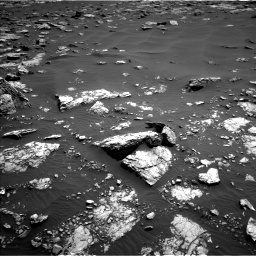 Nasa's Mars rover Curiosity acquired this image using its Left Navigation Camera on Sol 1521, at drive 2614, site number 59