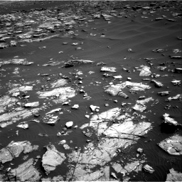Nasa's Mars rover Curiosity acquired this image using its Right Navigation Camera on Sol 1521, at drive 2578, site number 59