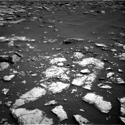 Nasa's Mars rover Curiosity acquired this image using its Right Navigation Camera on Sol 1521, at drive 2596, site number 59
