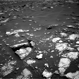 Nasa's Mars rover Curiosity acquired this image using its Right Navigation Camera on Sol 1521, at drive 2608, site number 59