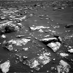 Nasa's Mars rover Curiosity acquired this image using its Right Navigation Camera on Sol 1521, at drive 2626, site number 59
