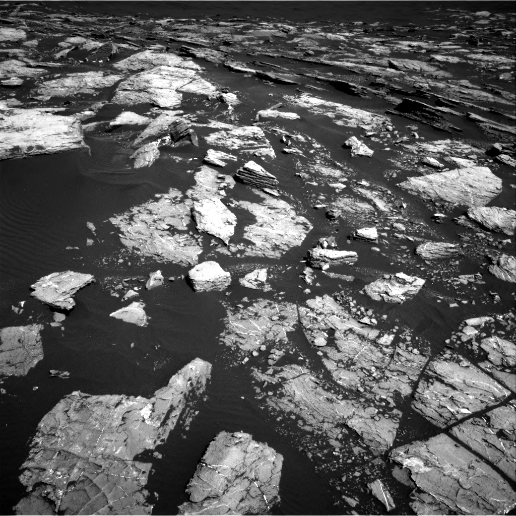 Nasa's Mars rover Curiosity acquired this image using its Right Navigation Camera on Sol 1521, at drive 2632, site number 59