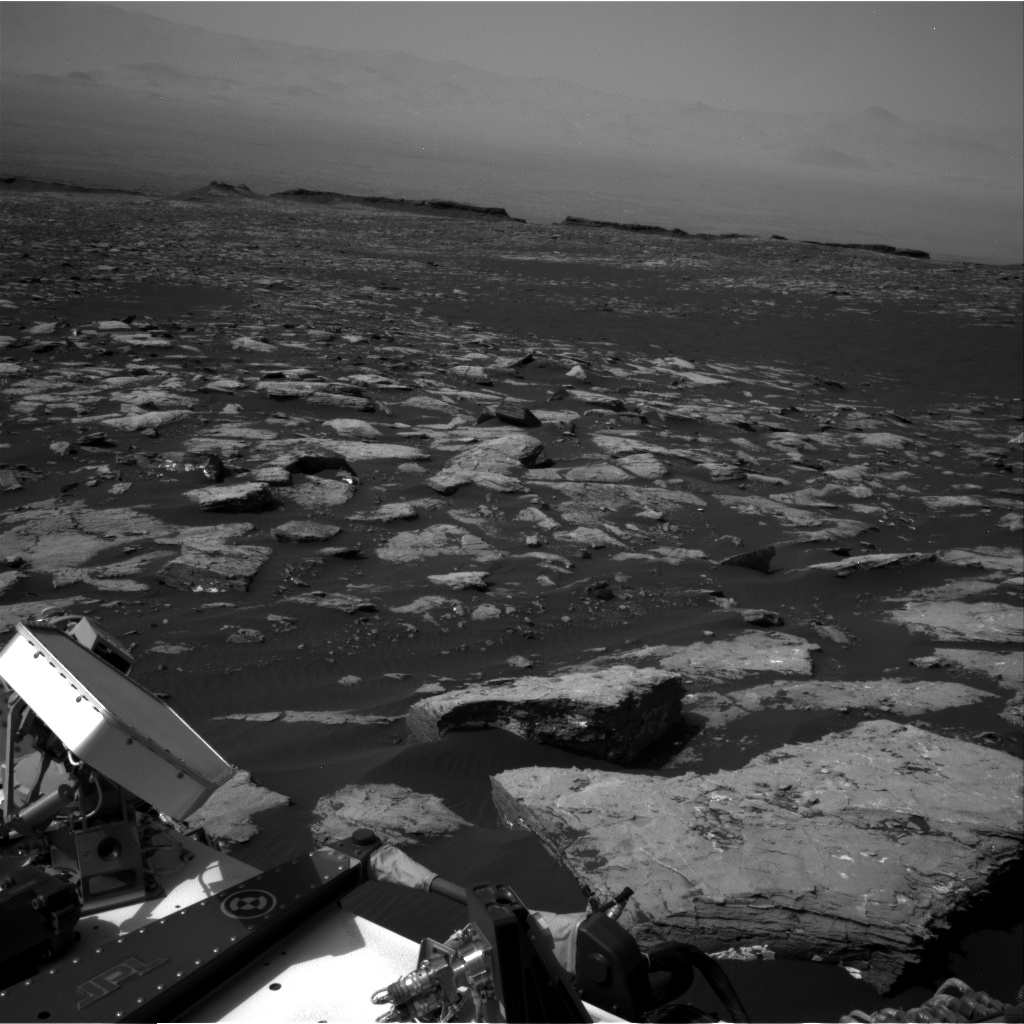 Nasa's Mars rover Curiosity acquired this image using its Right Navigation Camera on Sol 1521, at drive 2668, site number 59
