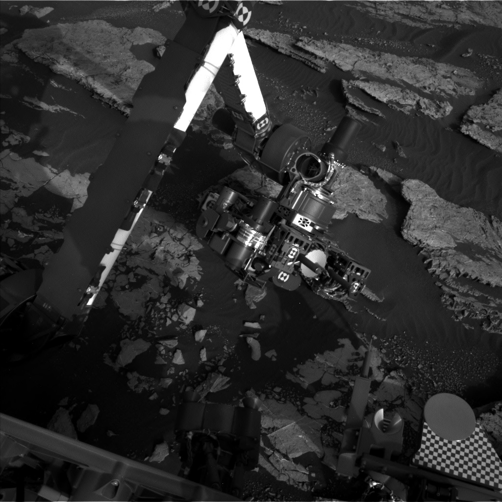 Nasa's Mars rover Curiosity acquired this image using its Left Navigation Camera on Sol 1523, at drive 2668, site number 59
