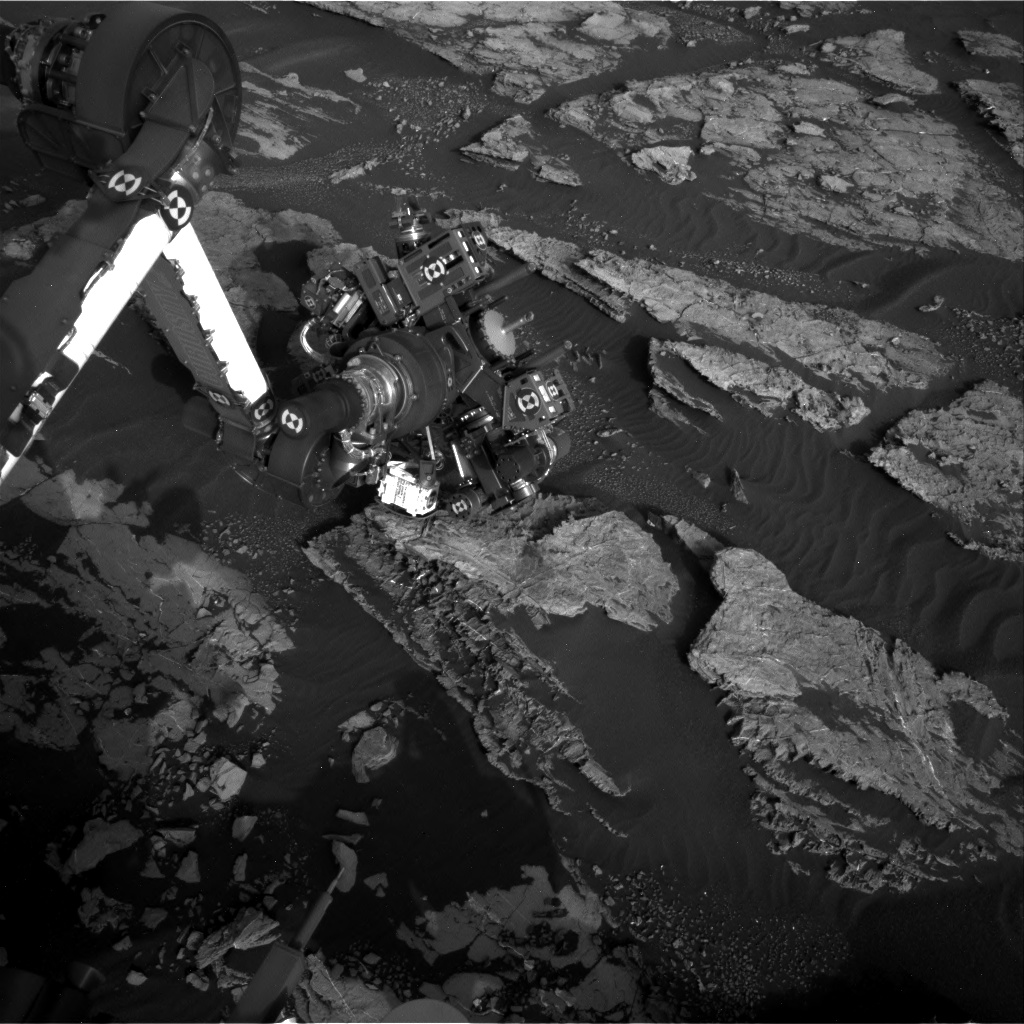 Nasa's Mars rover Curiosity acquired this image using its Right Navigation Camera on Sol 1523, at drive 2668, site number 59