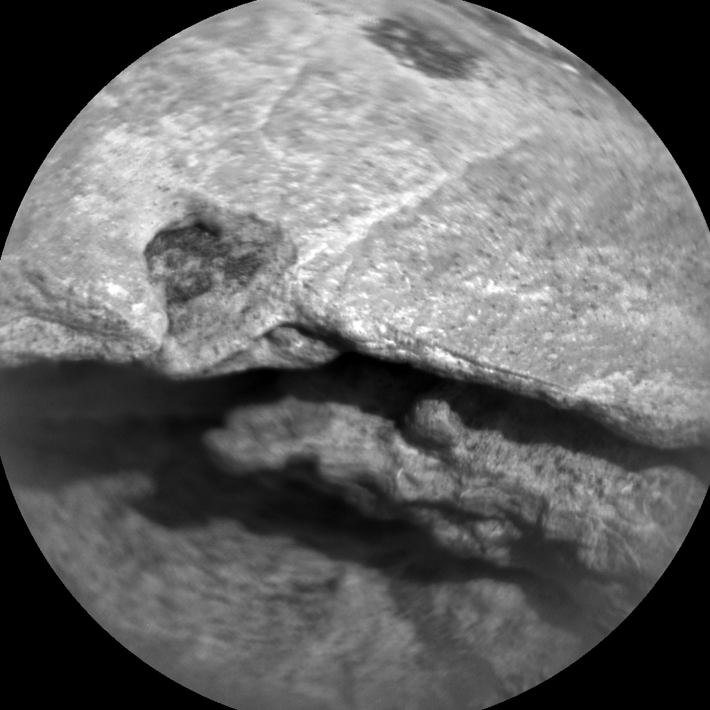 Nasa's Mars rover Curiosity acquired this image using its Chemistry & Camera (ChemCam) on Sol 1523, at drive 2668, site number 59