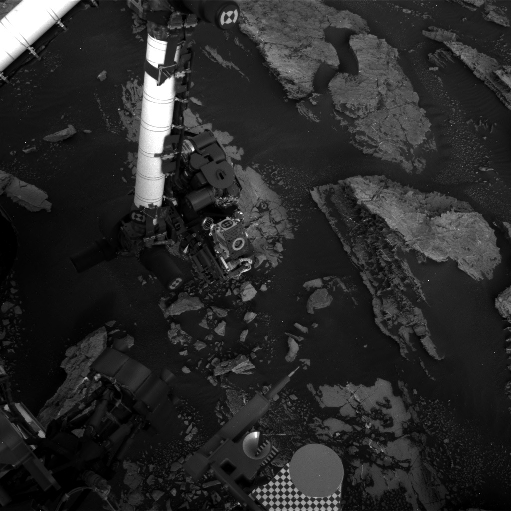 Nasa's Mars rover Curiosity acquired this image using its Right Navigation Camera on Sol 1525, at drive 2668, site number 59