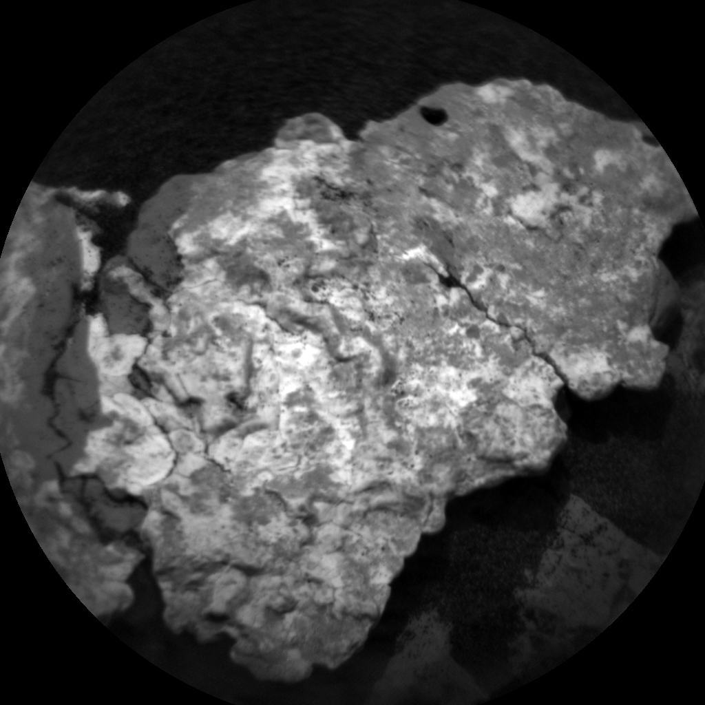 Nasa's Mars rover Curiosity acquired this image using its Chemistry & Camera (ChemCam) on Sol 1525, at drive 2668, site number 59