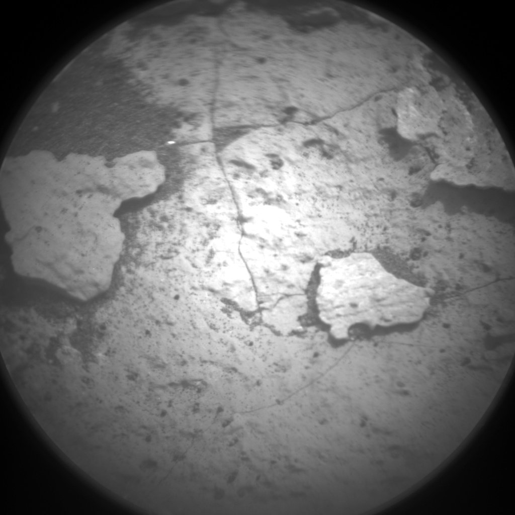 Nasa's Mars rover Curiosity acquired this image using its Chemistry & Camera (ChemCam) on Sol 1526, at drive 2830, site number 59