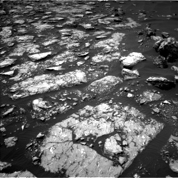 Nasa's Mars rover Curiosity acquired this image using its Left Navigation Camera on Sol 1526, at drive 2680, site number 59