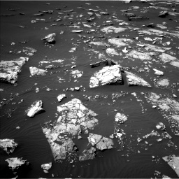 Nasa's Mars rover Curiosity acquired this image using its Left Navigation Camera on Sol 1526, at drive 2722, site number 59