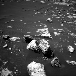 Nasa's Mars rover Curiosity acquired this image using its Left Navigation Camera on Sol 1526, at drive 2734, site number 59