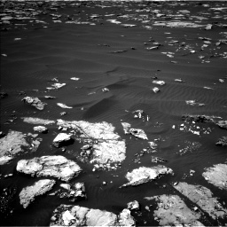 Nasa's Mars rover Curiosity acquired this image using its Left Navigation Camera on Sol 1526, at drive 2770, site number 59