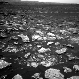 Nasa's Mars rover Curiosity acquired this image using its Left Navigation Camera on Sol 1526, at drive 2794, site number 59