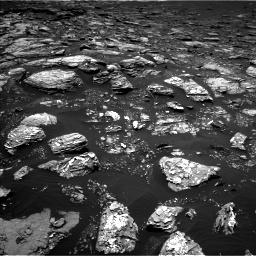 Nasa's Mars rover Curiosity acquired this image using its Left Navigation Camera on Sol 1526, at drive 2806, site number 59