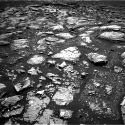 Nasa's Mars rover Curiosity acquired this image using its Left Navigation Camera on Sol 1526, at drive 2824, site number 59