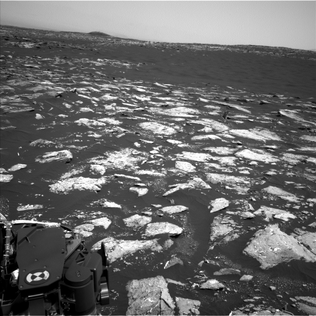 Nasa's Mars rover Curiosity acquired this image using its Left Navigation Camera on Sol 1526, at drive 2830, site number 59