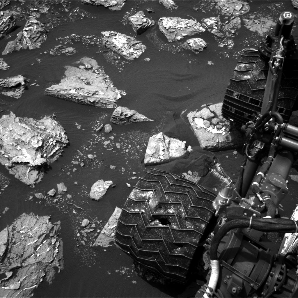 NASA's Mars rover Curiosity acquired this image using its Left Navigation Camera (Navcams) on Sol 1526