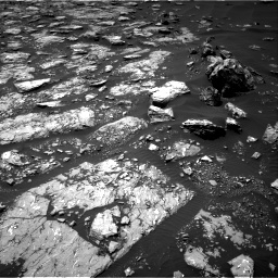 Nasa's Mars rover Curiosity acquired this image using its Right Navigation Camera on Sol 1526, at drive 2686, site number 59