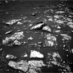 Nasa's Mars rover Curiosity acquired this image using its Right Navigation Camera on Sol 1526, at drive 2698, site number 59
