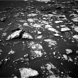 Nasa's Mars rover Curiosity acquired this image using its Right Navigation Camera on Sol 1526, at drive 2716, site number 59