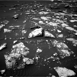 Nasa's Mars rover Curiosity acquired this image using its Right Navigation Camera on Sol 1526, at drive 2722, site number 59