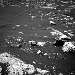 Nasa's Mars rover Curiosity acquired this image using its Right Navigation Camera on Sol 1526, at drive 2758, site number 59