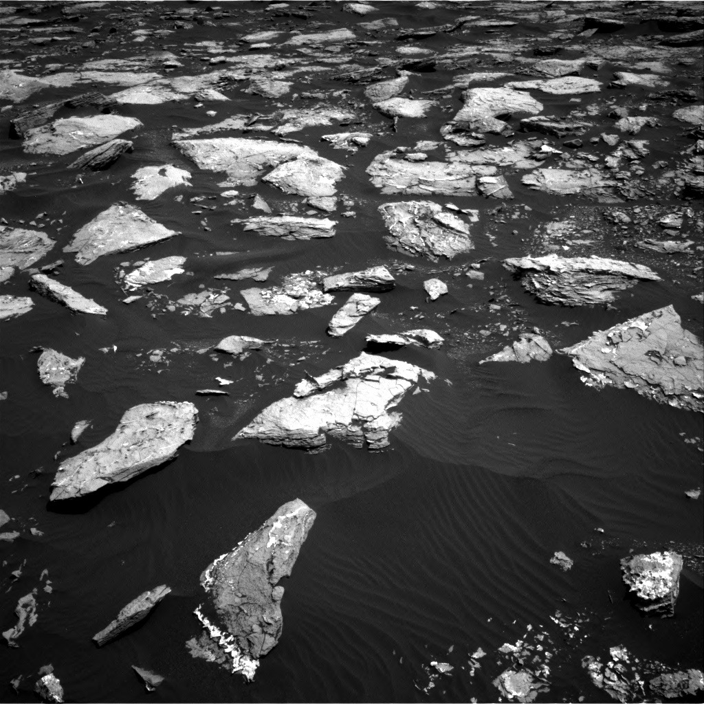 Nasa's Mars rover Curiosity acquired this image using its Right Navigation Camera on Sol 1526, at drive 2794, site number 59