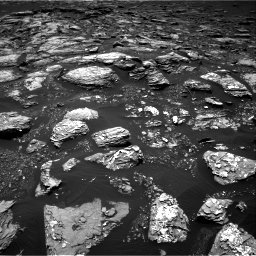 Nasa's Mars rover Curiosity acquired this image using its Right Navigation Camera on Sol 1526, at drive 2812, site number 59