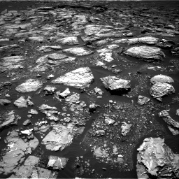 Nasa's Mars rover Curiosity acquired this image using its Right Navigation Camera on Sol 1526, at drive 2824, site number 59