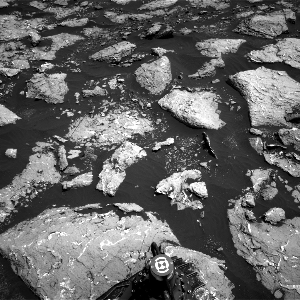 Nasa's Mars rover Curiosity acquired this image using its Right Navigation Camera on Sol 1526, at drive 2830, site number 59