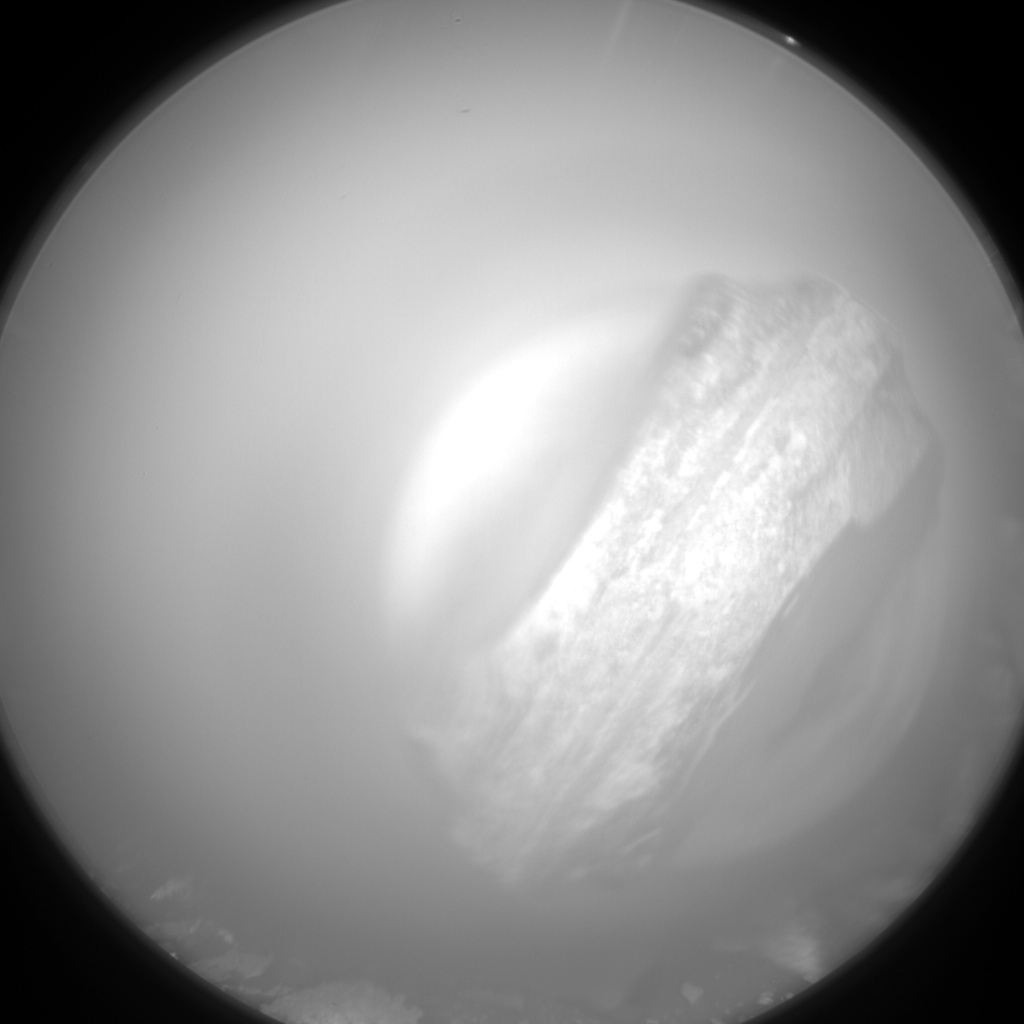 Nasa's Mars rover Curiosity acquired this image using its Chemistry & Camera (ChemCam) on Sol 1528, at drive 2830, site number 59