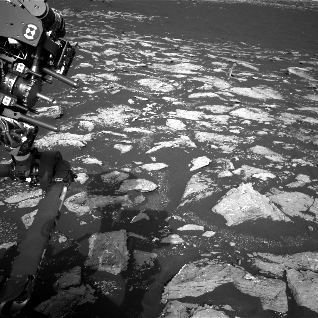 NASA's Mars rover Curiosity acquired this image using its Right Navigation Cameras (Navcams) on Sol 1528
