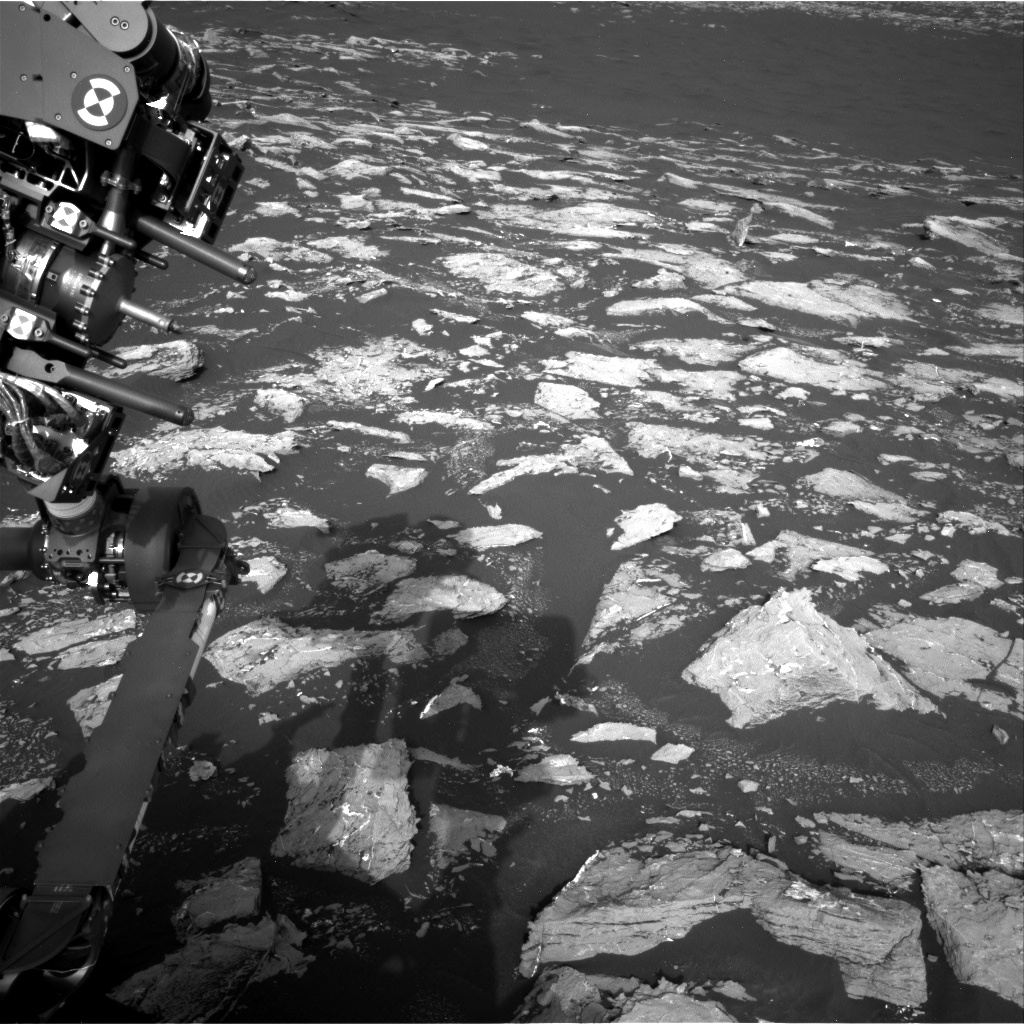 Nasa's Mars rover Curiosity acquired this image using its Right Navigation Camera on Sol 1528, at drive 2830, site number 59