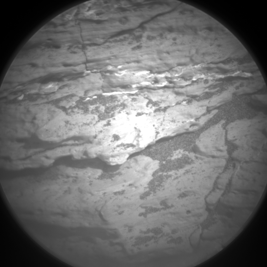 NASA's Mars rover Curiosity acquired this image using its Chemistry & Camera (ChemCam) on Sol 1529