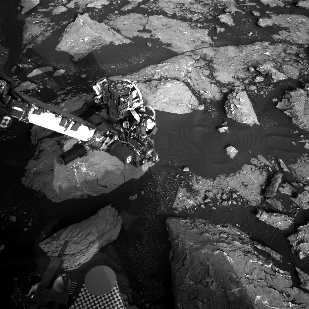 Nasa's Mars rover Curiosity acquired this image using its Right Navigation Camera on Sol 1531, at drive 2830, site number 59
