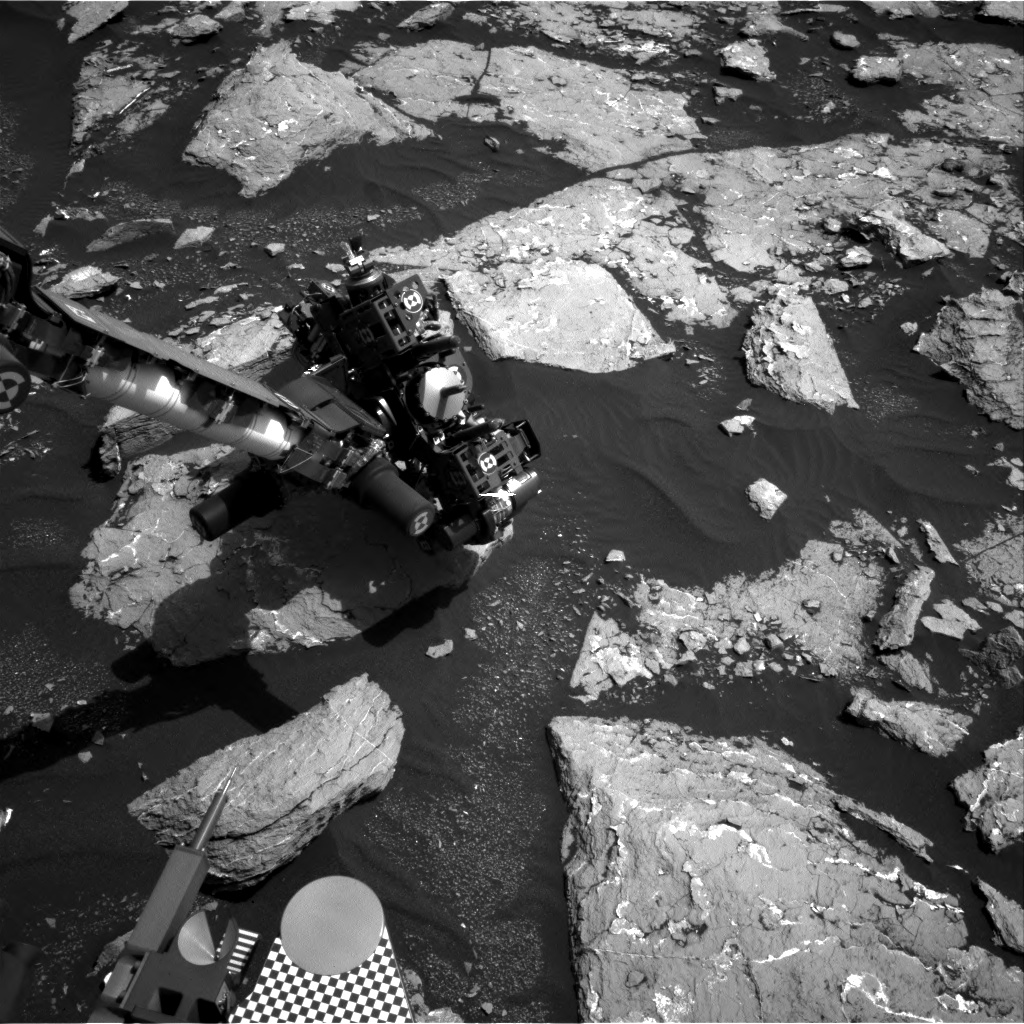 Nasa's Mars rover Curiosity acquired this image using its Right Navigation Camera on Sol 1532, at drive 2830, site number 59