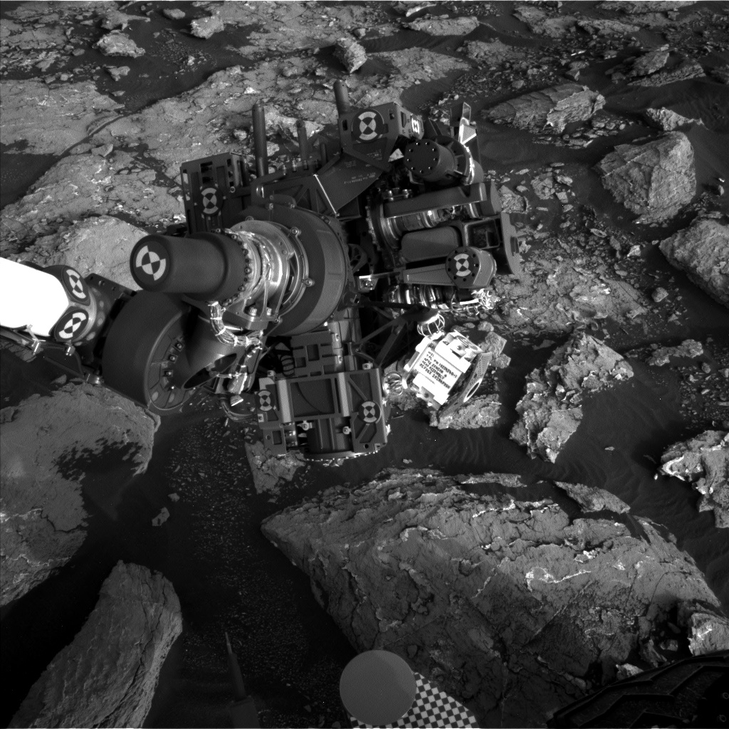 Nasa's Mars rover Curiosity acquired this image using its Left Navigation Camera on Sol 1535, at drive 2830, site number 59
