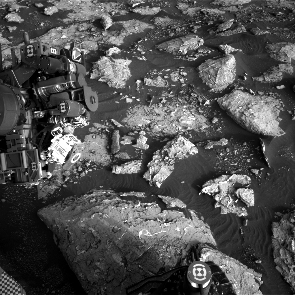 Nasa's Mars rover Curiosity acquired this image using its Right Navigation Camera on Sol 1535, at drive 2830, site number 59
