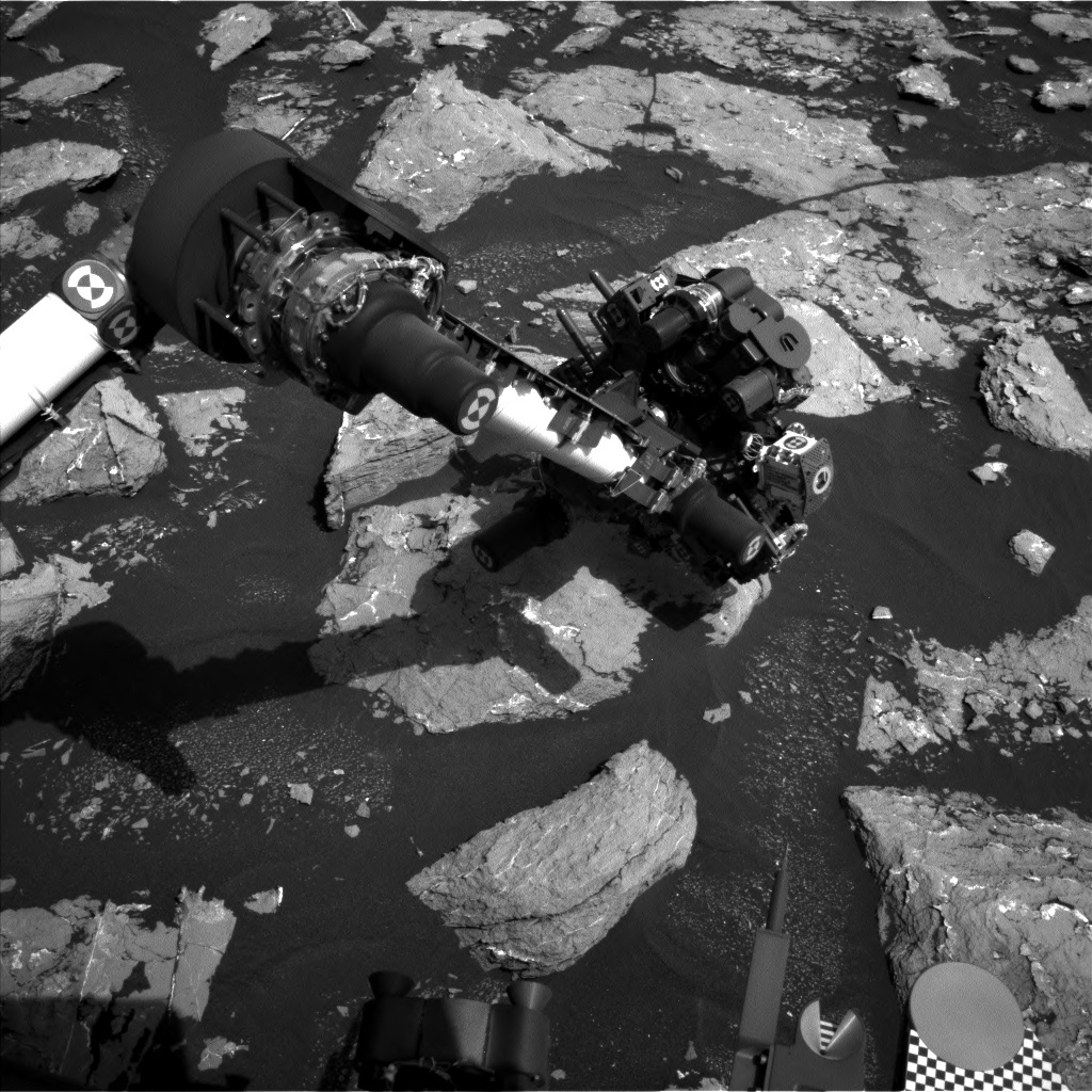 NASA's Mars rover Curiosity acquired this image using its Left Navigation Camera (Navcams) on Sol 1536