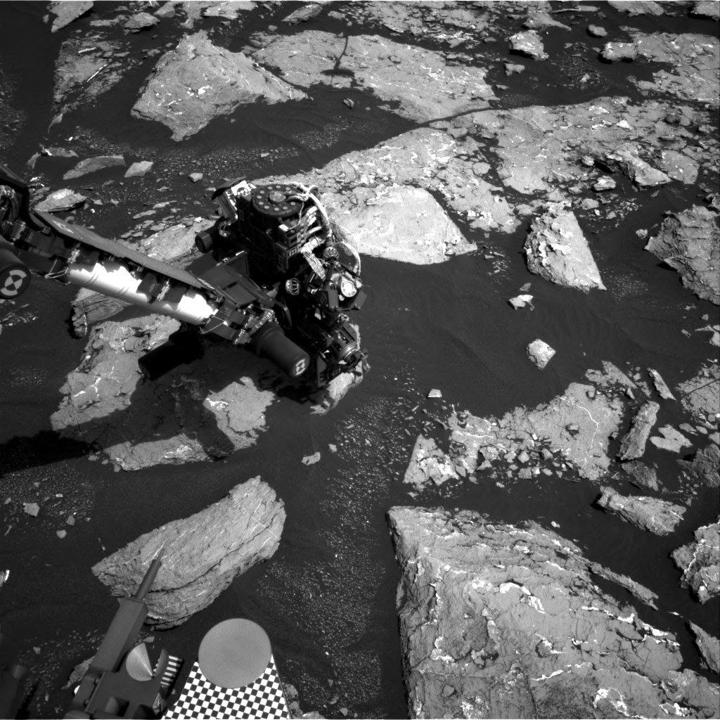 Nasa's Mars rover Curiosity acquired this image using its Right Navigation Camera on Sol 1536, at drive 2830, site number 59